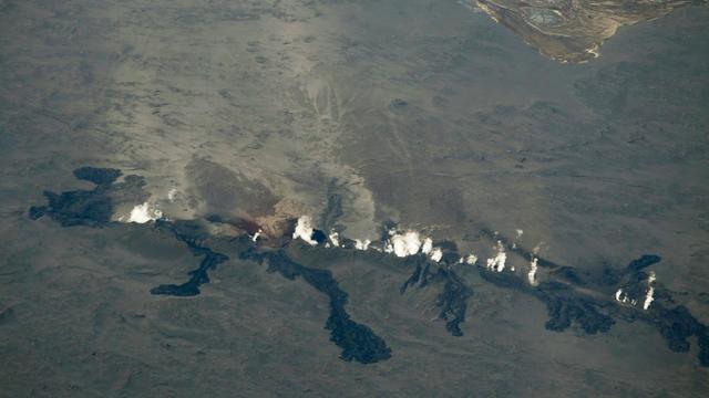Le volcan Bardarbunga, en Islande, en éruption le 29 août 2014 [Kjartan Thorbjornsson / AFP/Archives]