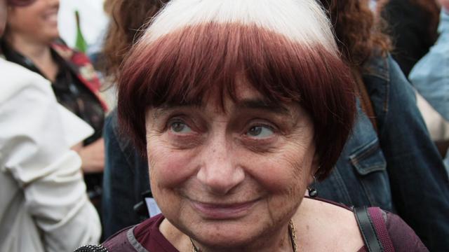 La réalisatrice Agnès Varda en 2009 [Loic Venance / AFP]