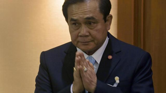 Le général Prayut Chan-O-Cha, chef de la junte militaire arrivée au pouvoir par un coup d'Etat en mai en Thaïlande, le 18 août 2014 à Bangkok [Pornchai Kittiwongsakul / AFP/Archives]
