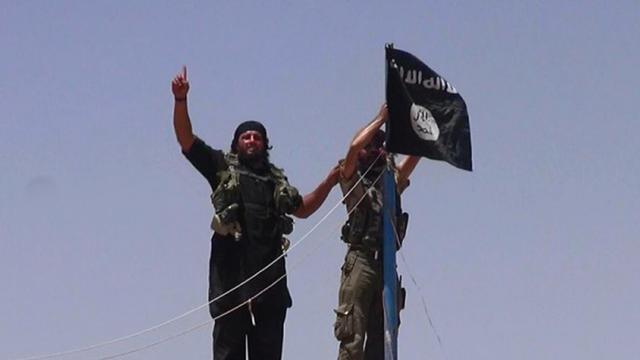 Une photo diffusée sur le compte Twitter d'Al-Baraka montre des combattants de l'Etat islamique le 11 juin 2014  [- / Albaraka News/AFP/Archives]