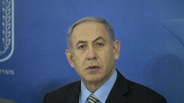 Le Premier ministre israélien Benjamin Netanyahu à Tel Aviv le 10 août 2014 [Baz Ratner / POOL/AFP/Archives]