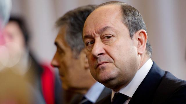 Photo prise le 17 janvier 2012 à Paris du directeur central du renseignement intérieur, Bernard Squarcini [Martin Bureau / AFP Photos/Archives]