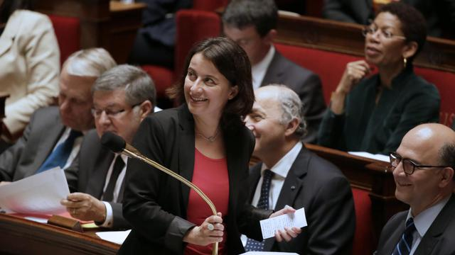 La ministre du Logement Cécile Duflot, le 21 mai 2013 à l'Assemblée nationale à Paris [Kenzo Tribouillard / AFP Photos/Archives]