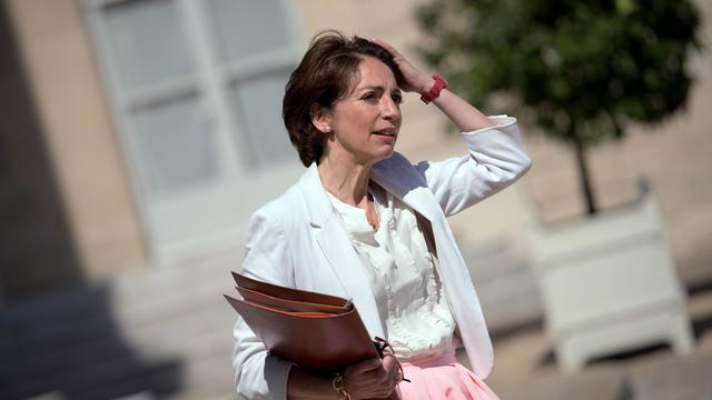 La ministre des Affaires sociales Marisol Touraine quitte l'Elysée le 5 juin 2013 [LIONEL BONAVENTURE / AFP/Archives]
