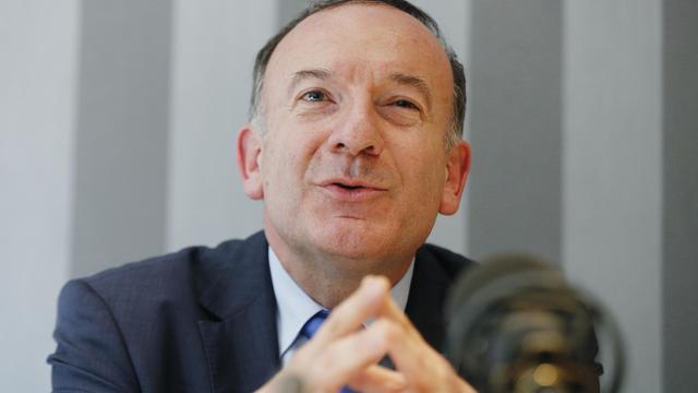 Le nouveau patron du Medef, Pierre Gattaz, le 13 juin 2013 à Paris [François Guillot / AFP/Archives]