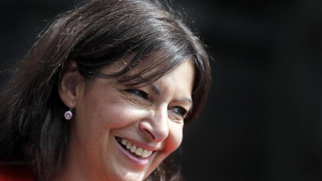 La candidate socialiste à la mairie de Paris, Anne Hidalgo, le 16 juin 2013 à Paris [KENZO TRIBOUILLARD / AFP Photo]