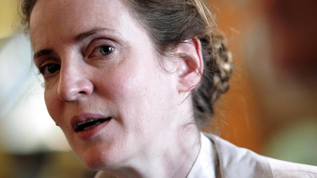 Nathalie Kosciusko-Morizet, candidate UMP à la mairie de Paris, le 18 juin 2013 [Jean-Christophe Magnenet / AFP]