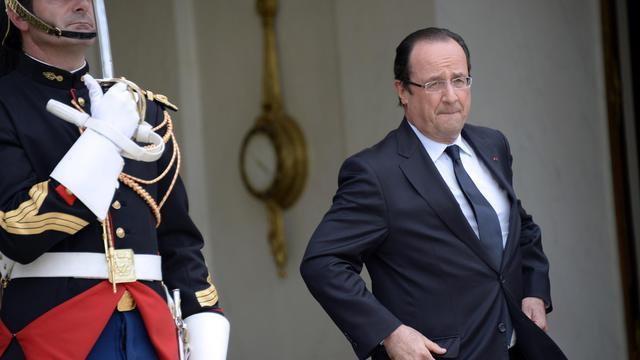 François Hollande le 19 juin 2013 à l'Elysée à Paris  [Bertrand Guay  / AFP]