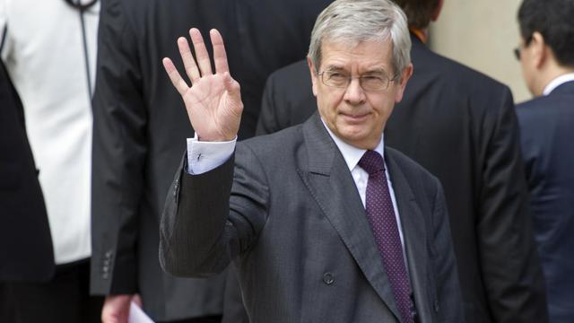 Le président du directoire, Philippe Varin, le 25 juin 2013 à Paris [Fred Dufour / AFP/Archives]