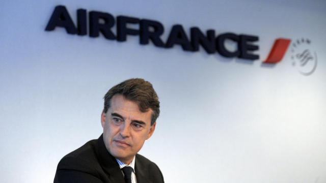 Le PDG d'Air France-KLM, Alexandre de Juniac