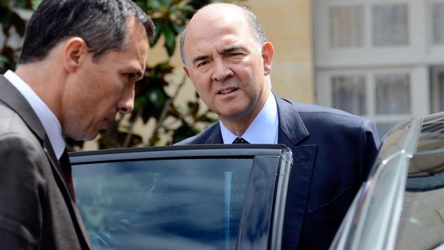 Le ministre français de l'Economie, Pierre Moscovici, le 31 juillet 2013 à Paris   [Bertrand Guay / AFP/Archives]