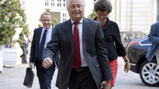 Jean-François Roubaud, président de la CGPME [Bertrand Guay / AFP]