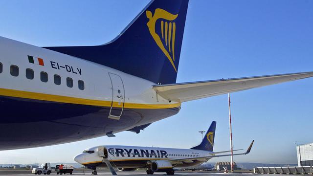 Deux avions de Ryanair, le 8 novembre 2006 sur l'aéroport de Marignane, à Marseille [Anne-Christine Poujoulat / AFP/Archives]