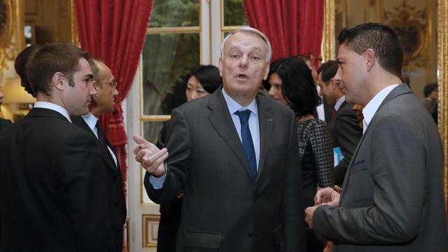 Jean-Marc Ayrault le 14 novembre 2013 à Matignon [Patrick Kovarik / AFP]