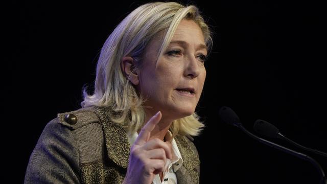 La présidente du Front national, Marine Le Pen, le 17 novembre 2013 à Paris [ / AFP/Archives]