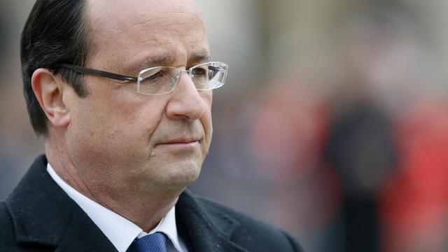 Le président François Hollande à Paris, le 26 novembre 2013 [ / Pool/AFP/Archives]