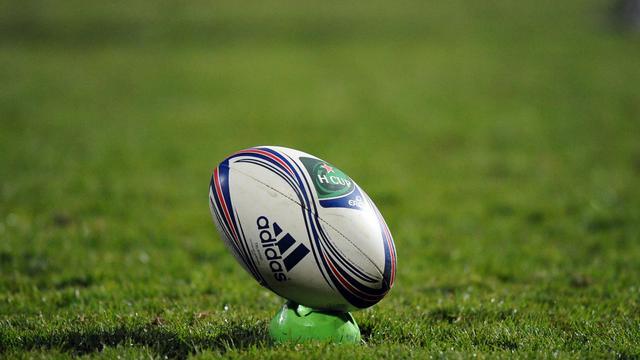 Un ballon de rugby [Rémy Gabalda / AFP/Archives]