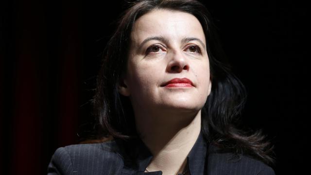 La ministre du Logement et de l'Égalité des territoires, Cécile Duflot, le 24 janvier 2014 à Cergy-Pontoise [Thomas Samson / AFP]