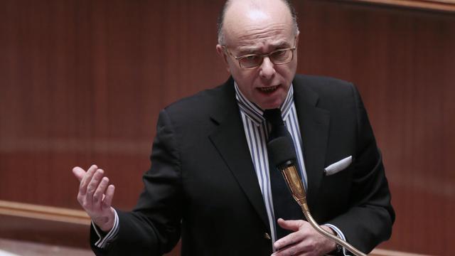 Le ministre délégué au budget Bernard Cazeneuve à l'Assemblée nationale à Paris le 4 février 2014 [Jacques Demarthon / AFP/Archives]