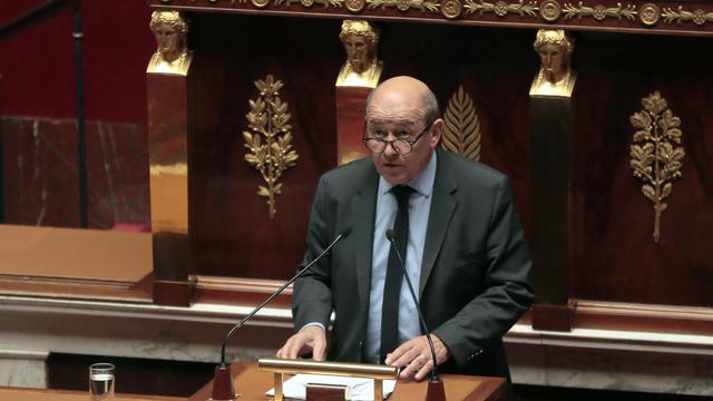 Le ministre de la Défense Jean-Yves Le Drian, le 25 février 2014 à l'Assemblée nationale  [Jacques Demarthon / AFP]