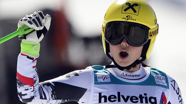 Ski alpin: Anna Fenninger remporte le gros globe de cristal