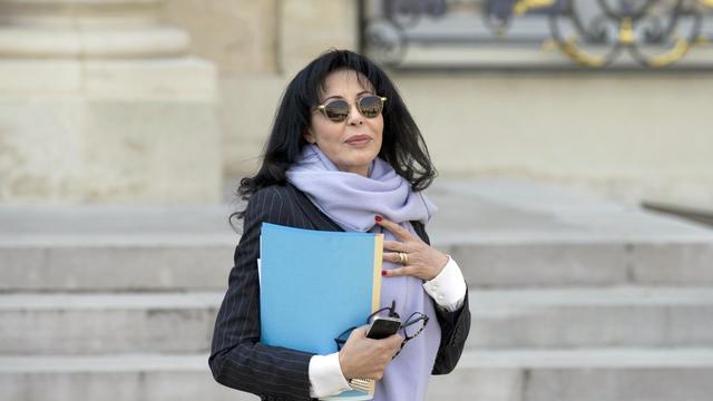 Yamina Benguigui quitte l'Elysée après un conseil des ministres, le 26 mars 2014 [Alain Jocard / AFP/Archives]