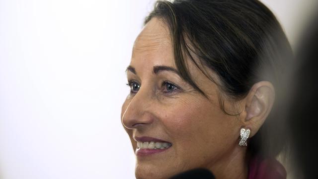 La ministre de l'Environnement et de l'Energie Ségolène Royal le 14 avril 2014 à Paris  [Fred Dufour / AFP]