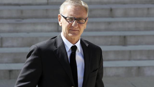 Le secrétaire d'Etat à la Réforme territoriale André Vallini, le 16 avril 2014 à l'Elysée, à Paris [Patrick Kovarik / AFP/Archives]