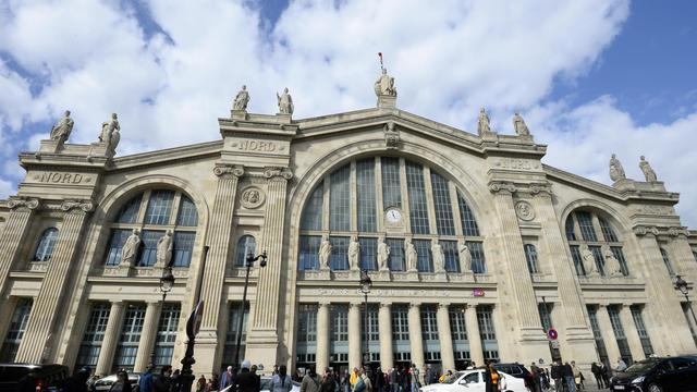 Une vue de l'entrée de la Gare du Nord à Paris le 18 avril 2014 [Bertrand Guay / AFP]