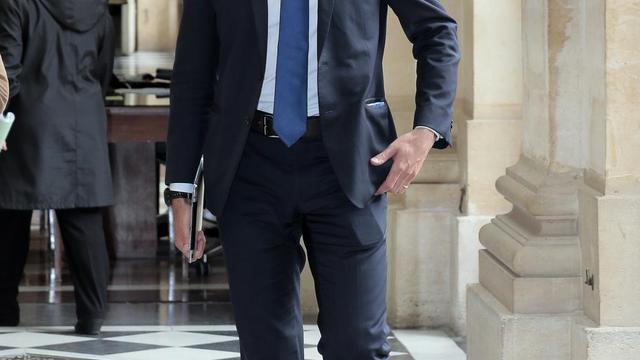 Le député UMP Laurent Wauquiez à l'Assemblée nationale, le 29 avril 2014 [Jacques Demarthon / AFP/Archives]