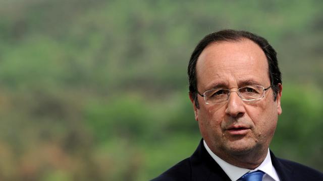 Le président François HOllande à Tbilissi le 13 mai 2014 [Stéphane de Sakutin / POOL/AFP/Archives]