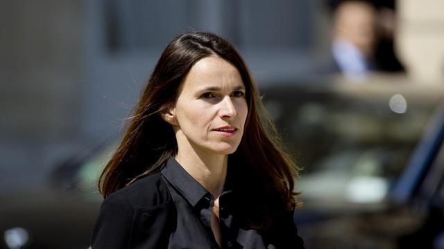 La ministre de la Culture Aurélie Filippetti à l'Elysée à Paris le 14 mai 2014 [Alain Jocard / AFP]