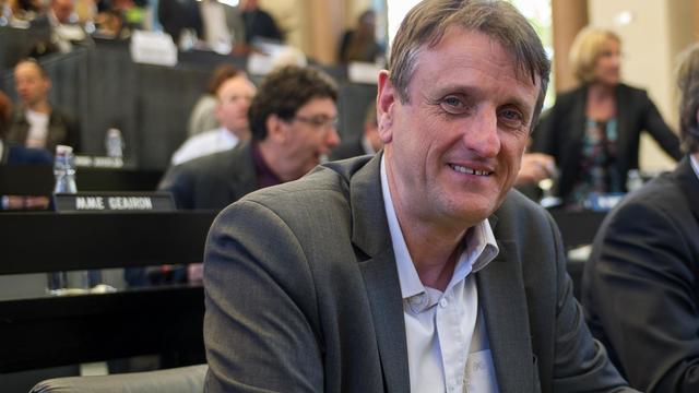 Jean-Francois Macaire le 25 mai 2014 à Poitiers [Guillaume Souvant / AFP/Archives]