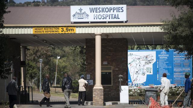 L'hôpital psychiatrique Weskoppies à Pretoria, photographié le 20 mai 2014, où Oscar Pistorius, 27 ans, a dû subir un mois de tests [Mujahid Safodien / AFP]