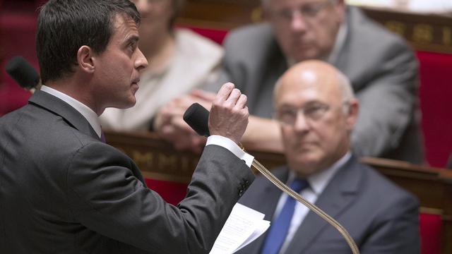 Le Premier ministre Manuel Valls le 20 mai 2014 à Paris [Joel Saget / AFP]