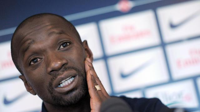 Claude Makelele, le 5 juin 2010 à Saint-Germain-en-Laye [Miguel Medina / AFP/Archives]