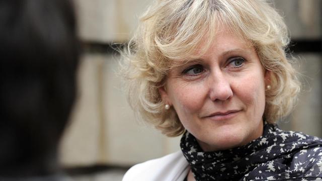 Nadine Morano le 27 mai 2014 à Paris [Stephane de Sakutin / AFP/Archives]