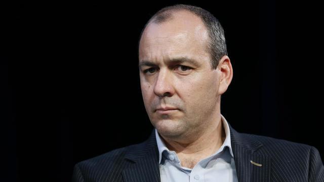 Laurent Berger, le secrétaire général de la CFDT, le 7 avril 2014 à Paris [Patrick Kovarik / AFP/Archives]