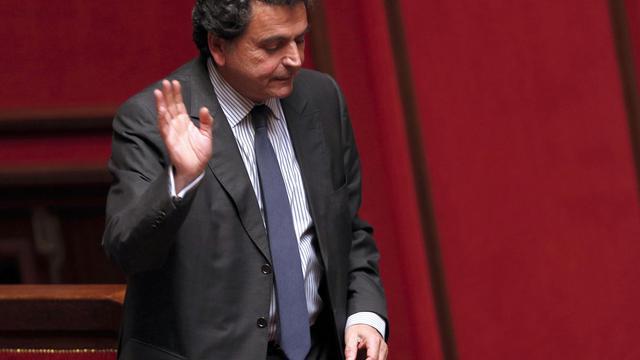 Le député UMP Pierre Lellouche à l'Assemblée nationale à Paris, le 3 juin 2014 [François Guillot / AFP/Archives]