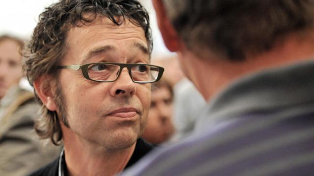 Le docteur Nicolas Bonnemaison, le 13 septembre 2011, à la sortie du palais de justice de Pau [Pierre Andrieu / AFP/Archives]