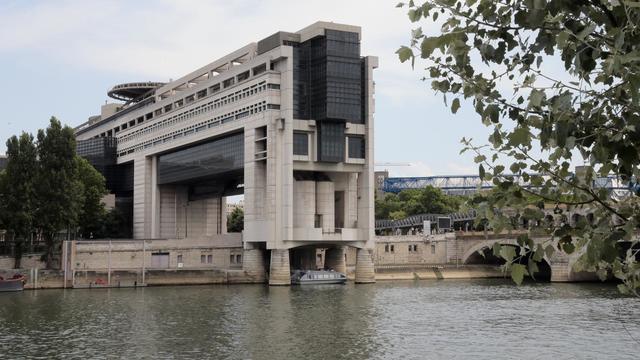 Le ministère des Finances, sur le quai de Bercy, à Paris [Jacques Demarthon / AFP/Archives]