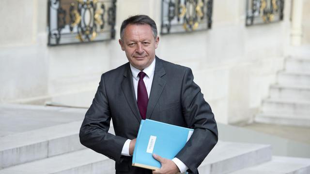 Le secrétaire d'état au Sport Thierry Braillard à l'Elysée le 10 juin 2014 [Alain Jocard / AFP]