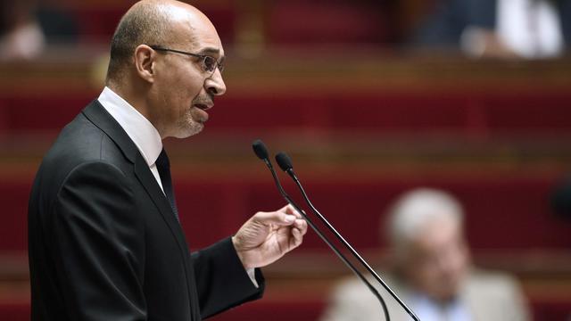 Harlem Desir lors des questions au gouvernement le 25 juin 2014 à l'Assemblée nationale à Paris  [Eric Feferberg / AFP/Archives]
