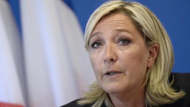 La présidente du Front national Marine Le Pen le 25 juin 2014 à Nanterre [Stéphane de Sakutin / AFP/Archives]