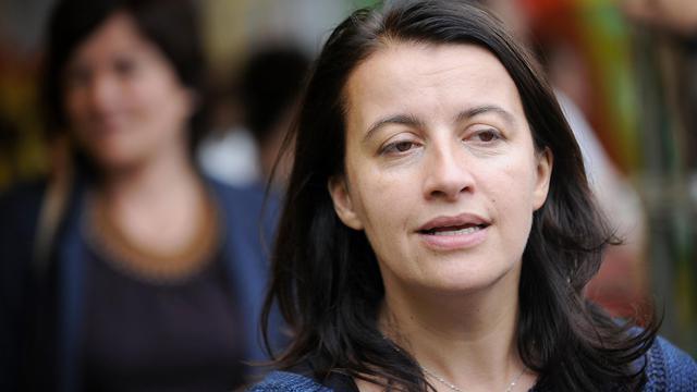 -Cécile Duflot le 5 juillet 2014 à Notre-Dame-des-Landes [Jean-Sébastien Evrard / AFP/Archives]