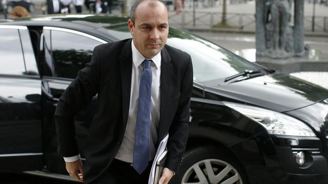 Le secrétaire général de la CFDT, Laurent Berger, le 7 juillet 2014 à Paris [Benoît Tessier / Pool/AFP/Archives]