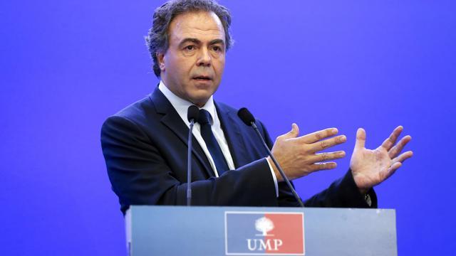 Luc Chatel, secrétaire général de l'UMP, le 14 juillet 2014 à Paris [Thomas Samson / AFP/Archives]