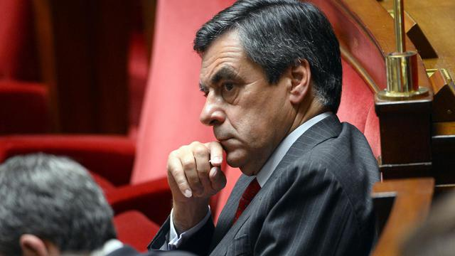 François Fillon à l'Assemblée nationale le 15 juillet 2014 [Betrand Guay / AFP/Archives]