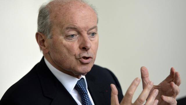 Jacques Toubon, nommé Défenseur des droits, à Paris le 16 juillet 2014 [Miguel Medina / AFP]