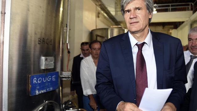 Le ministre de l'Agriculture Stéphane Le Foll à La Redorte le 17 juillet 2014 [Eric Cabanis / AFP/Archives]